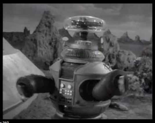 Lost In Space Robot 2