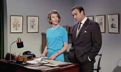 What's the one thing Moneypenny never asked Bond?